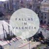 Fallas in Valencia – Mascletà vom Balkon